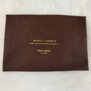 Kate Spade Dust Bag / Dust Cover / Gift Bag